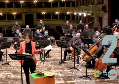 Pierino e il lupo – Sergej, l'orchestra e i personaggi